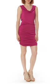 Bobi Los Angeles Shirred Side Dress - Front cropped