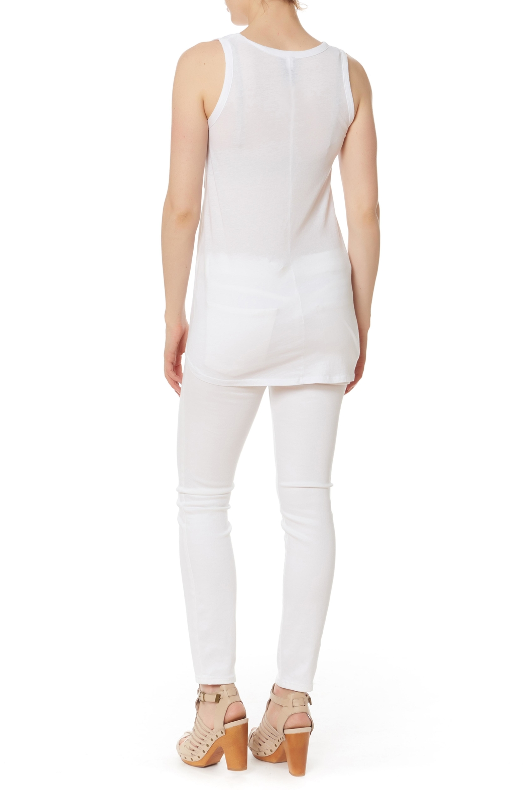 Bobi Los Angeles Side Knot Top - Front Full Image