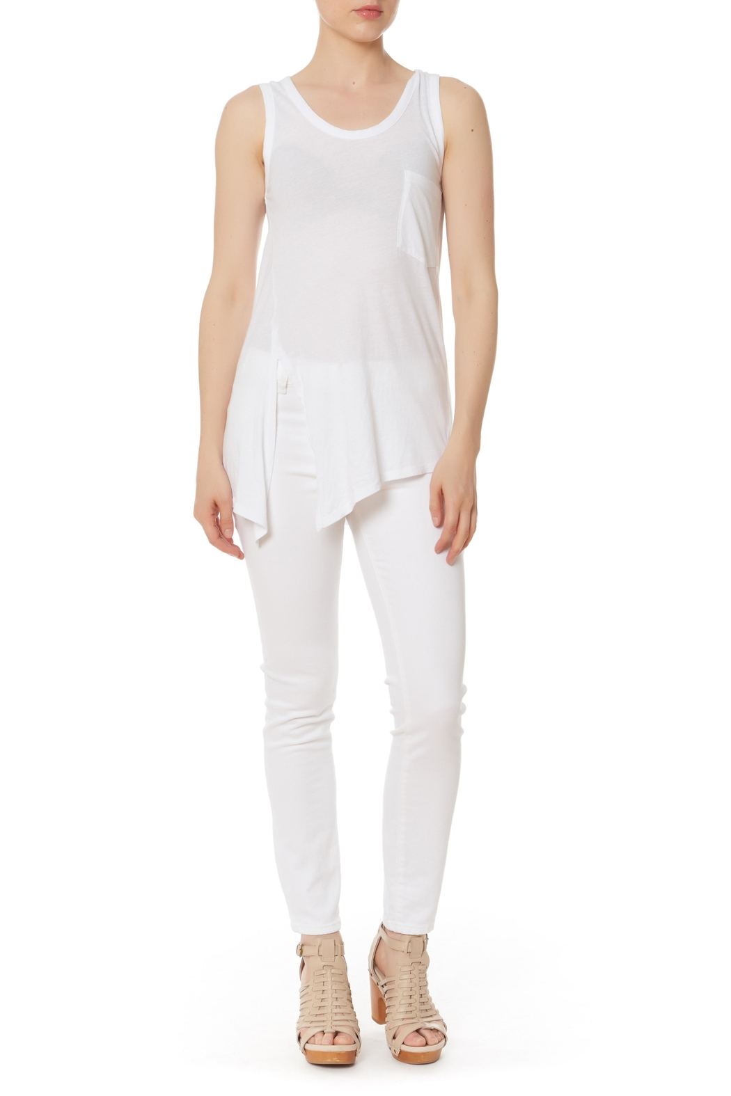 Bobi Los Angeles Side Knot Top - Main Image