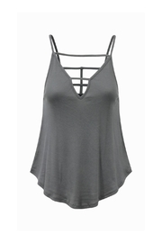 Bobi Los Angeles Strappy V Neck Tank - Product Mini Image