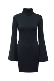 Bobi Los Angeles Turtleneck Bell-Sleeve Dress - Product Mini Image