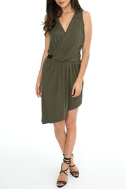 BobiBLACK Asymmetrical Surplice Dress - Product Mini Image