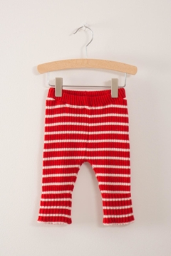 Shoptiques Product: Knitted Red Leggings
