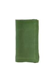 Bodrum Green Napkins S/4 - Front cropped
