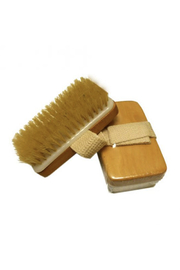 Phinas Body Brush-Boar Bristles HandStrap - Product Mini Image