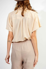 easel Body-Suit Top - Front full body