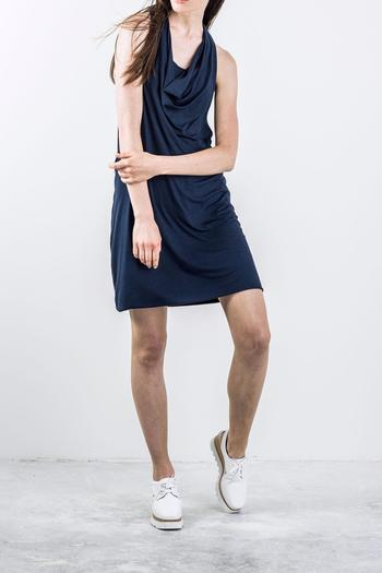 Bodybag by Jude Draped Sleeveless Dress - Main Image