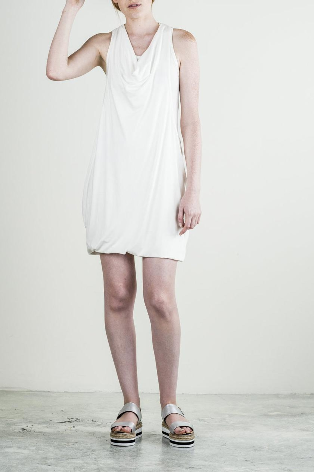 Bodybag by Jude Jersey Sleeveless Dress - Front Cropped Image