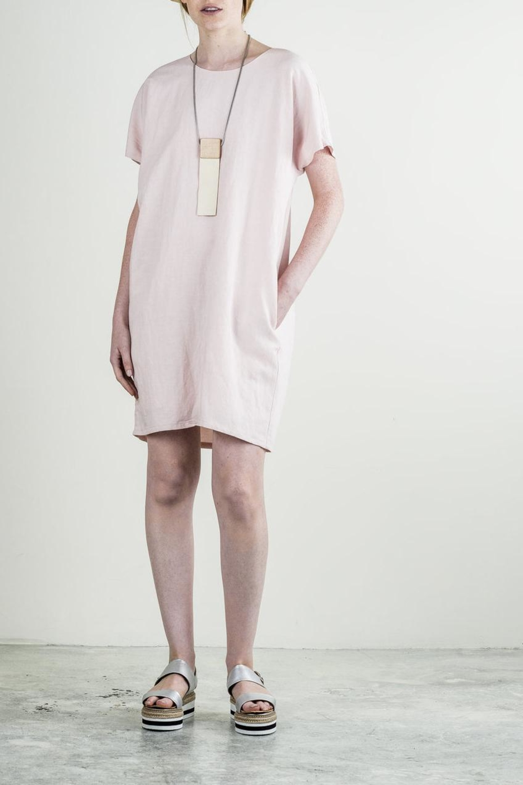 Bodybag by Jude Pink Tunic Dress - Main Image