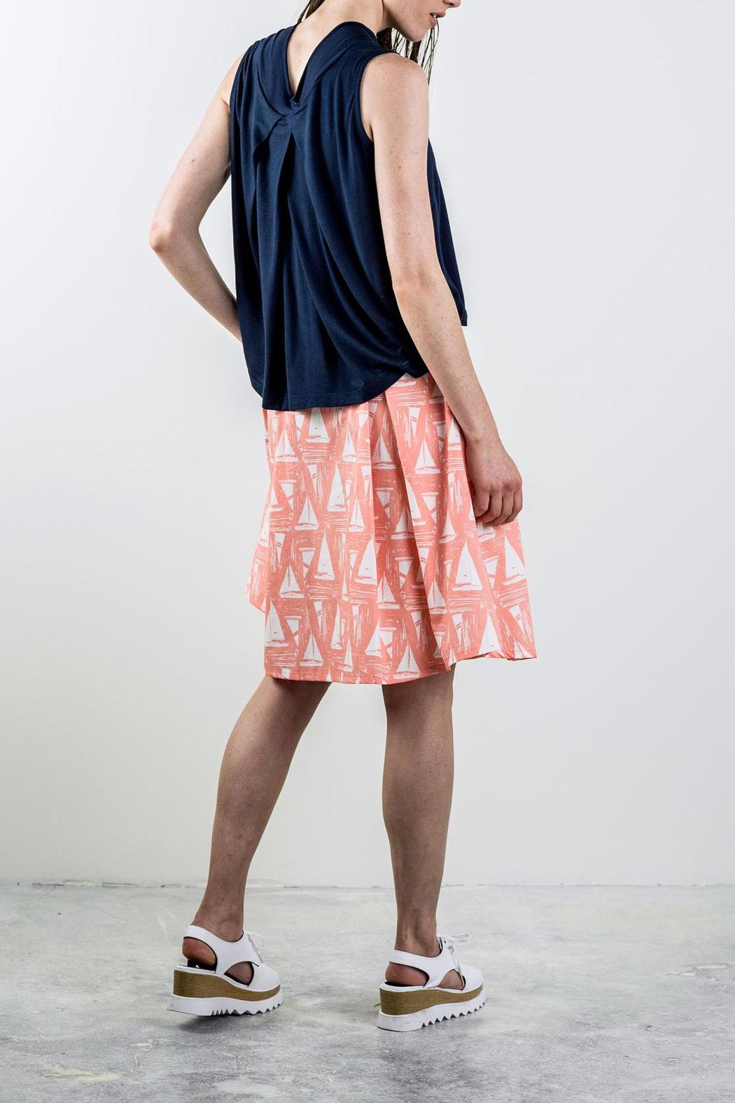 Bodybag by Jude Printed Pleated Skirt - Front Full Image