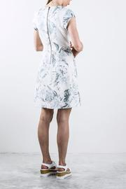 Shoptiques Product: Printed Shortsleeve Dress - Front full body