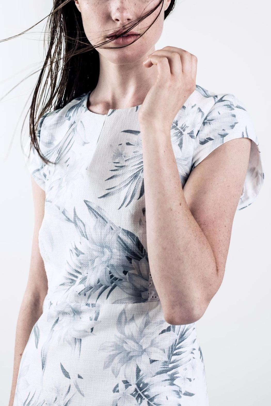 Bodybag by Jude Printed Shortsleeve Dress - Side Cropped Image