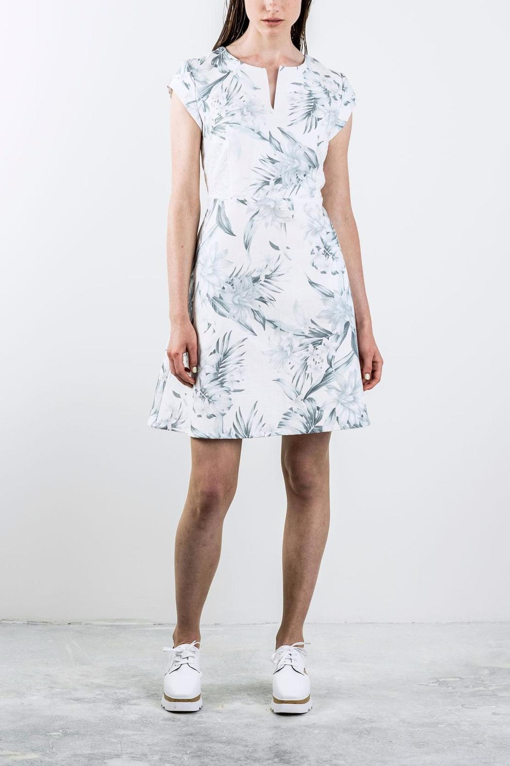 Bodybag by Jude Printed Shortsleeve Dress - Front Cropped Image