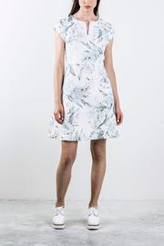 Shoptiques Product: Printed Shortsleeve Dress - Front cropped