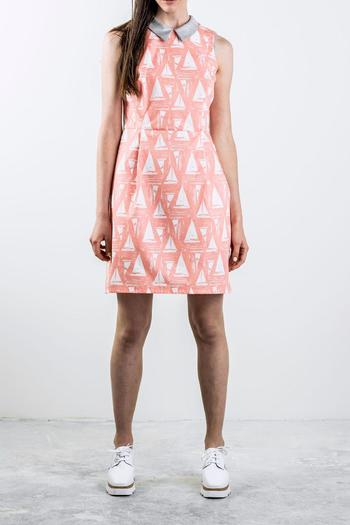 Bodybag by Jude Sleeveless Collard Dress - Main Image