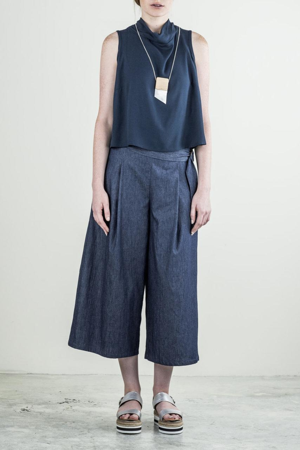 Bodybag by Jude Sleeveless Crop Top - Main Image
