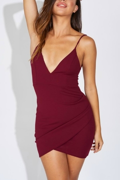 Pretty Little Things Bodycon Wrap Dress - Product List Image