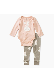 Tea Collection Bodysuit Baby Outfit - Front cropped