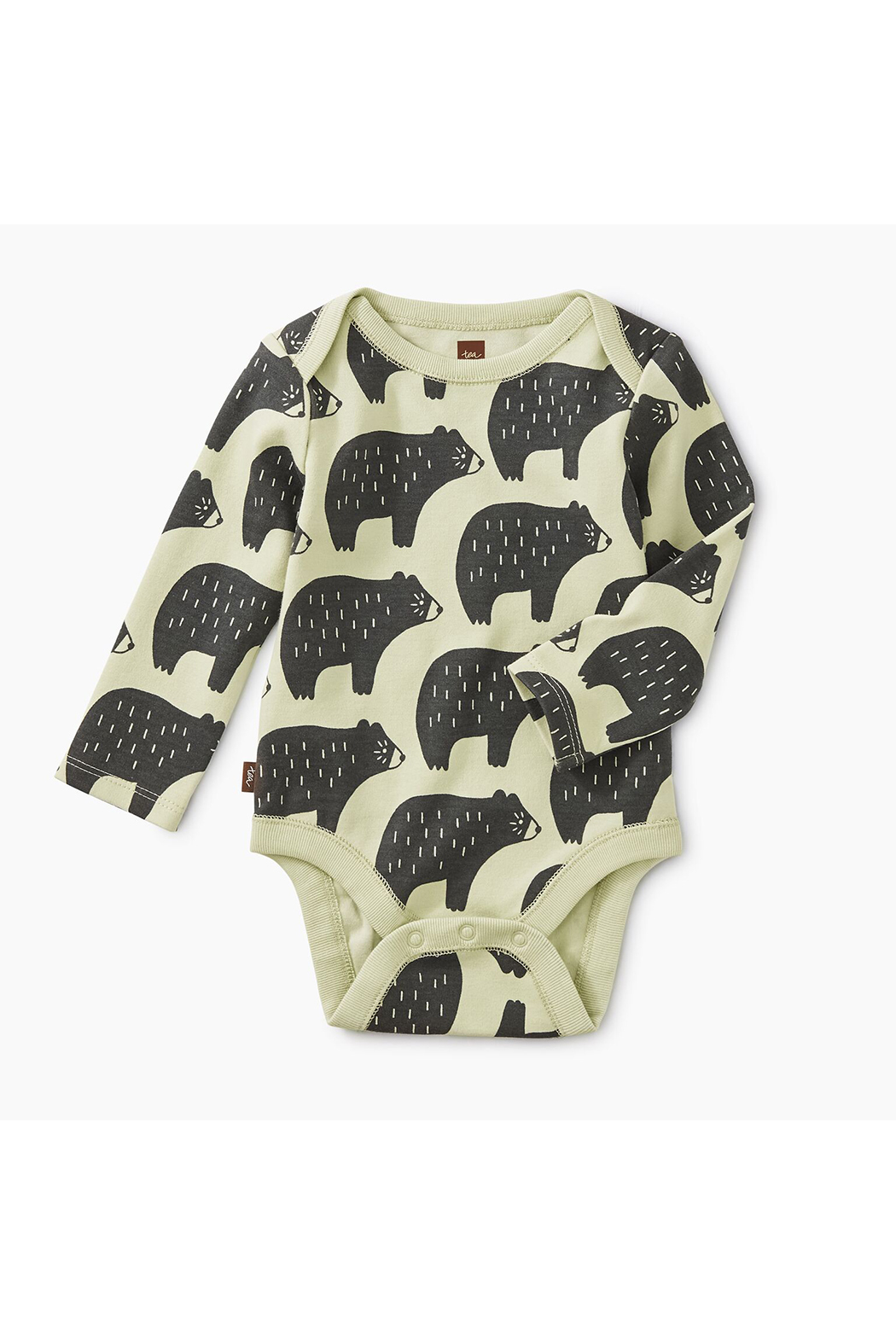 Tea Collection Bodysuit Three-Pack - Front Cropped Image