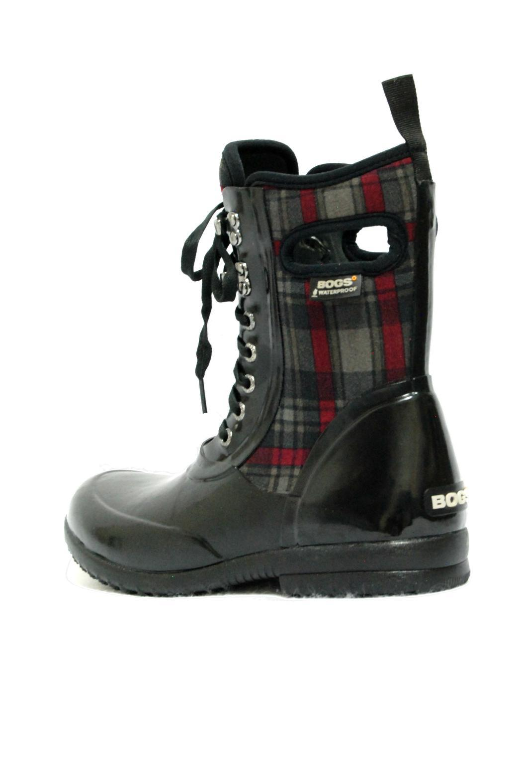 BOGS Sidney Plaid Boot - Back Cropped Image