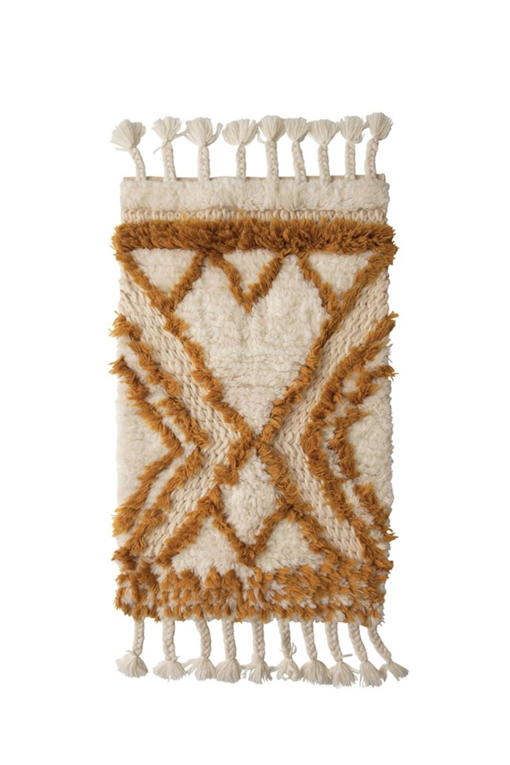 Creative Co-Op Boheme Bath Mat - Side Cropped Image