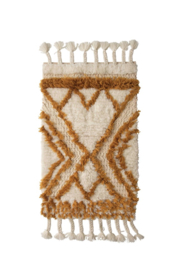 Creative Co-Op Boheme Bath Mat - Side cropped