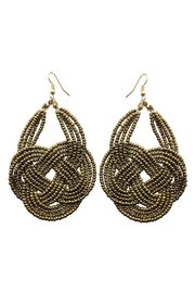 Madison Avenue Accessories Bohemia Beaded Gold - Product Mini Image