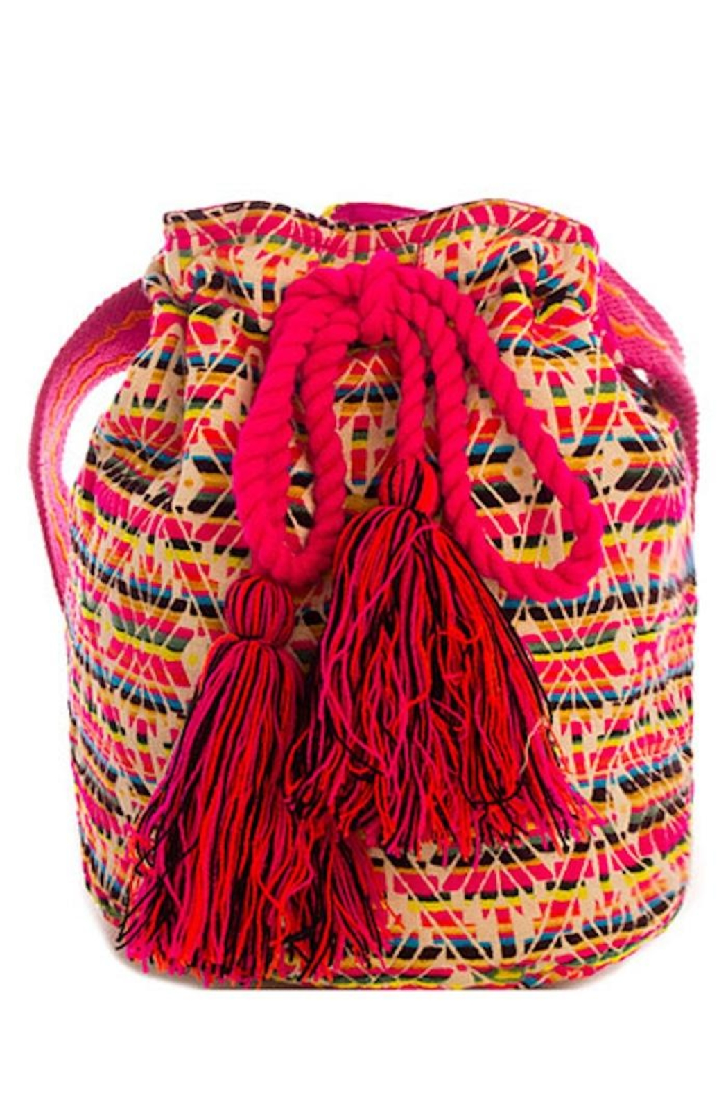 Street Level Bohemian Bag - Front Cropped Image