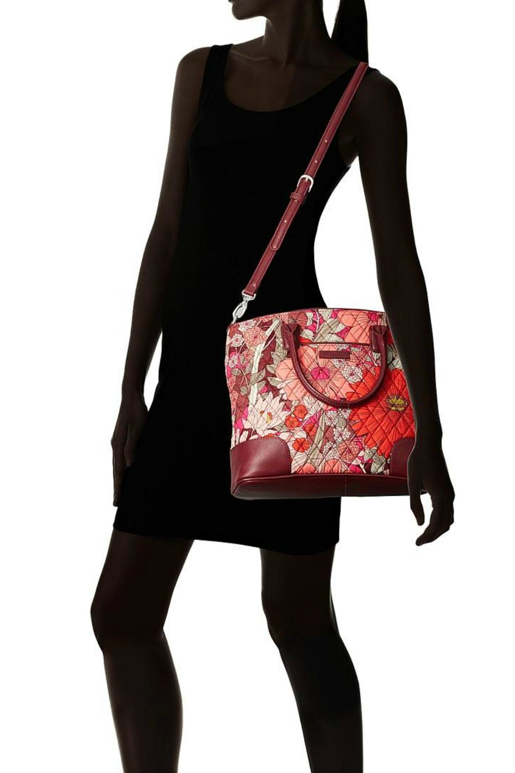 Vera Bradley Bohemian Blooms Day-Off - Back Cropped Image