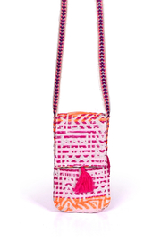 America & Beyond Bohemian Cell Phone Crossbody - Front cropped
