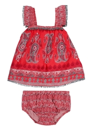 Mimi & Maggie Bohemian Paisley - Front cropped