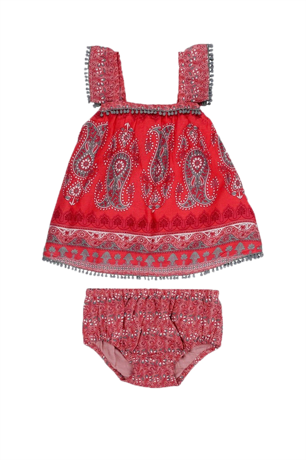Mimi & Maggie Bohemian Paisley Set - Front Cropped Image