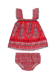 Mimi & Maggie Bohemian Paisley Set - Front cropped