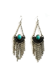 JChronicles Bohemian-Style Turquoise Earring - Product Mini Image