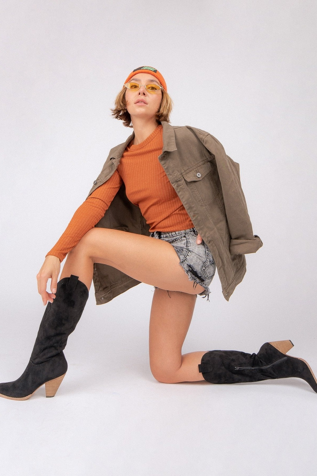 miracle miles  Bohemian/Western Knee-High Boot - Side Cropped Image