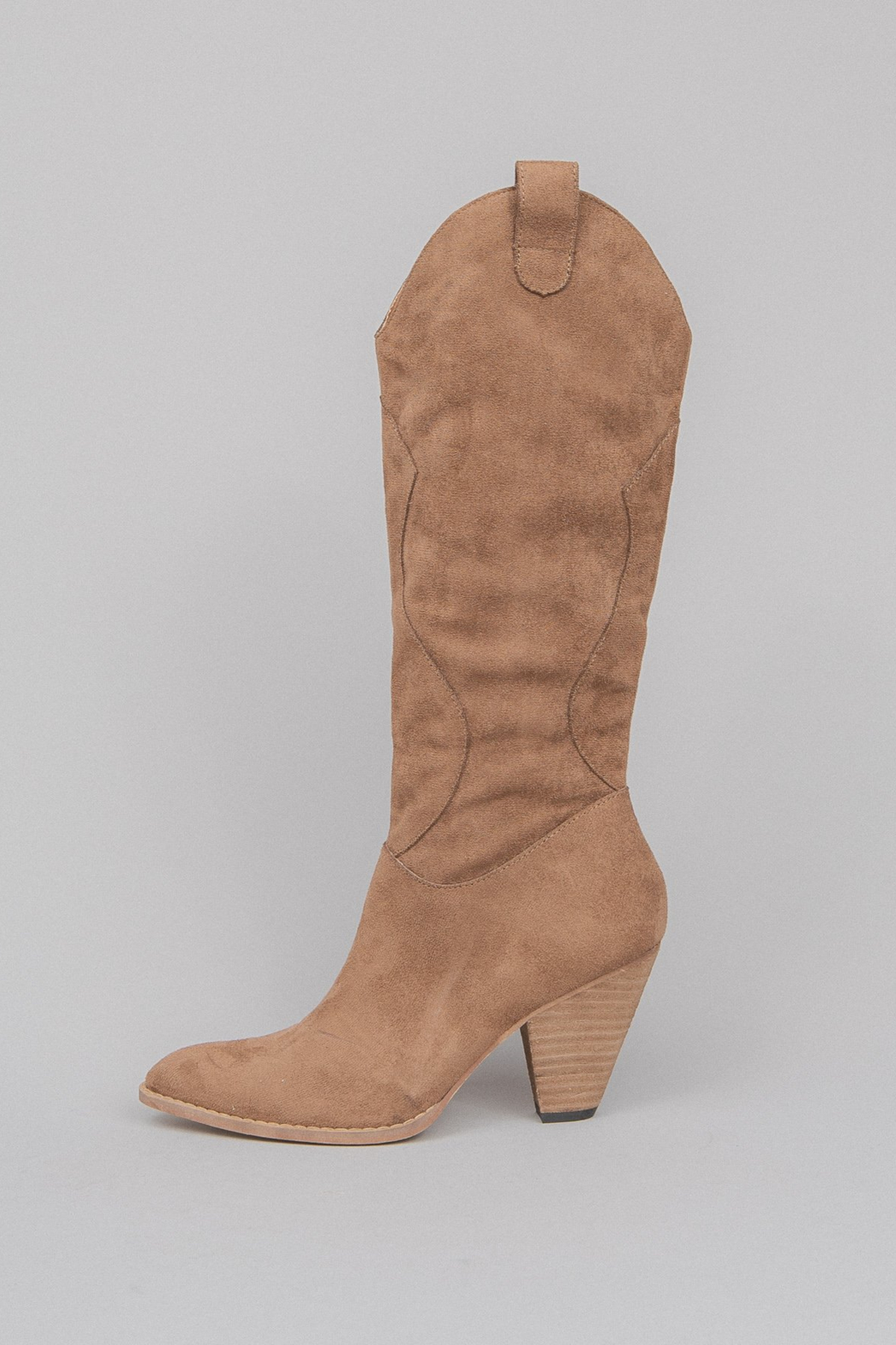 miracle miles  Bohemian/Western Knee-High Boot - Front Cropped Image