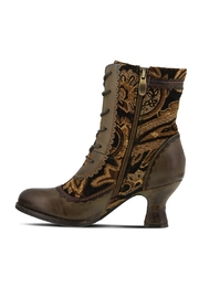 Vintage Boots- Buy Winter Retro Boots Boho Bewitched Bootie $160.00 AT vintagedancer.com