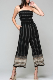 Imagine That Boho Border Jumpsuit - Product Mini Image