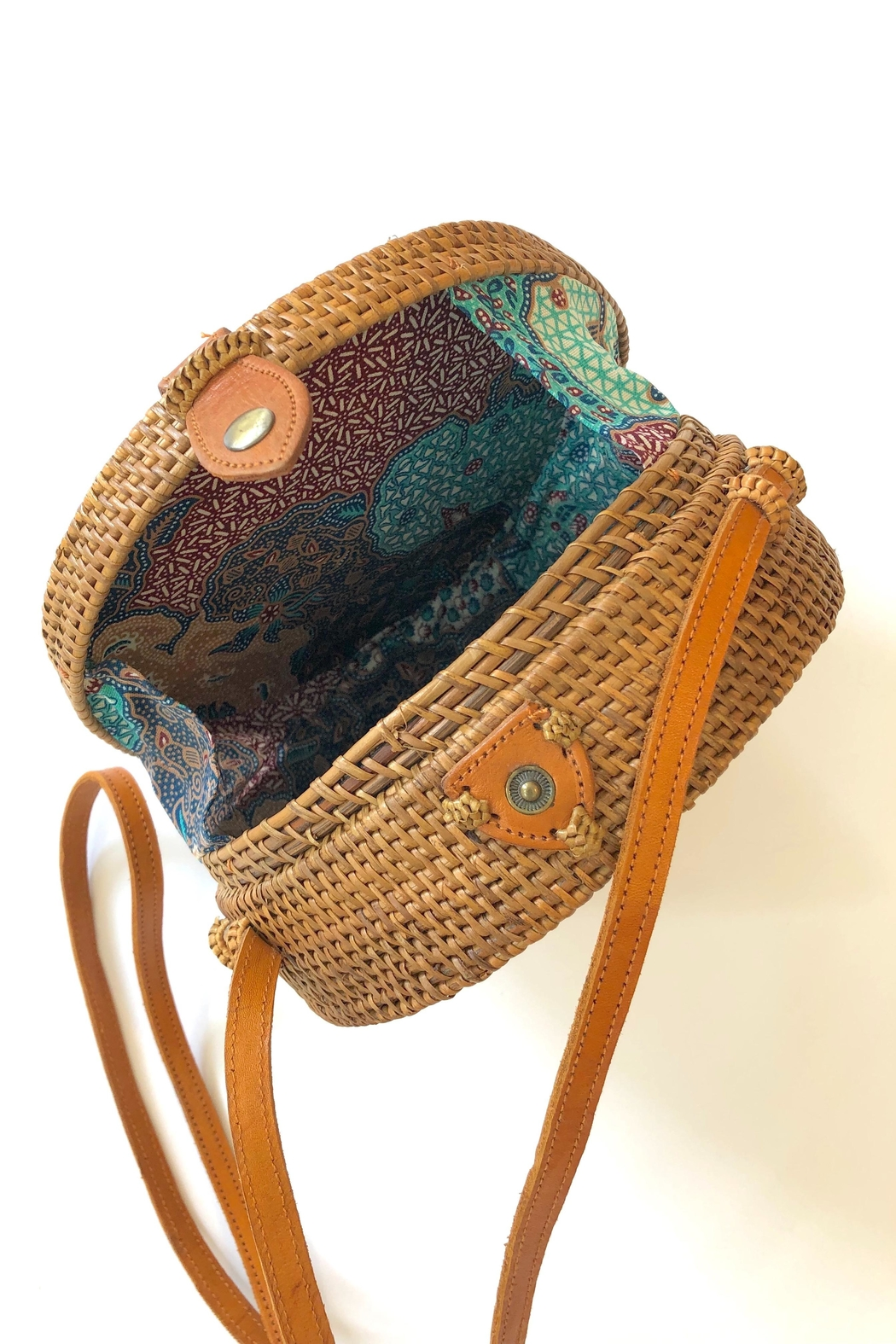 The Winding Road Boho Canteen Bag - Side Cropped Image