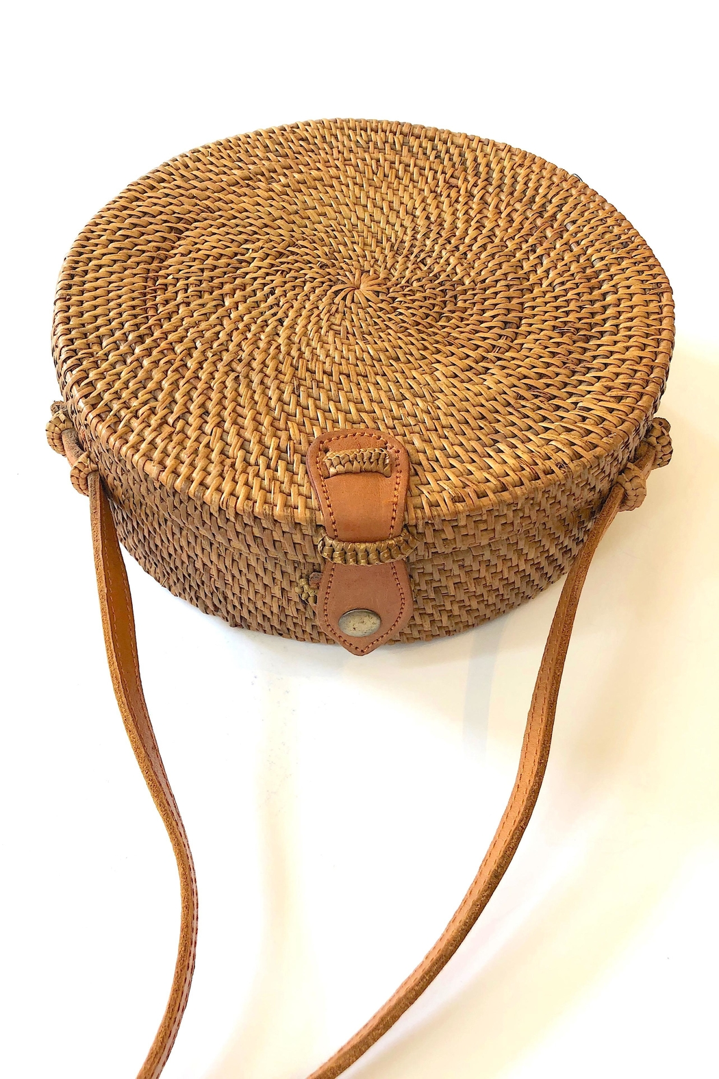 The Winding Road Boho Canteen Bag - Front Full Image