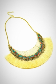 Embellish Boho Crescent Necklace - Product Mini Image