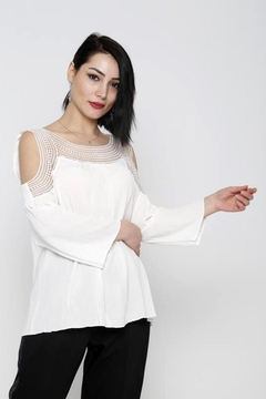 Marvy Fashion Boho Crochet Top - Product List Image