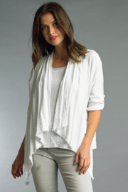Tempo Paris Boho Drape Jacket - Product Mini Image