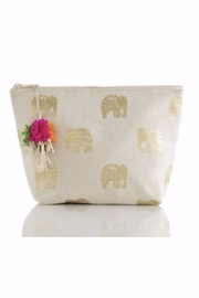 Allie & Chica Boho Elephant Clutch - Front cropped