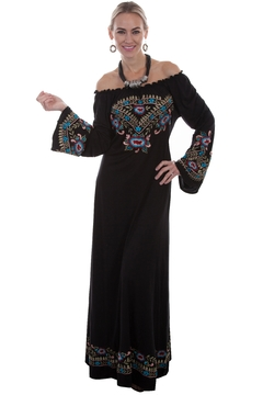 Scully Boho Embroidered Dress - Product List Image