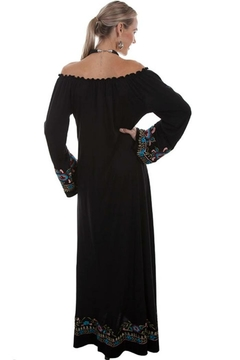 Scully Boho Embroidered Dress - Alternate List Image