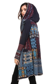Adore Boho Embroidered Jacket - Front full body