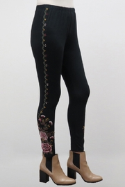 Caite BOHO EMBROIDERED LEGGING - Front cropped
