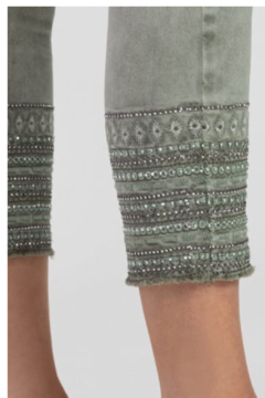 Tribal Boho Embroidered Leggings - Alternate List Image