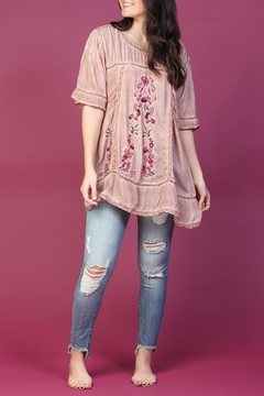 POL Boho Embroidered Tunic - Product List Image